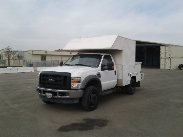2008 Ford F 550 S/A Utility Truck